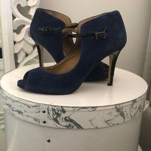 Blue Suede Shoes! Ann Taylor